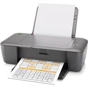 2) Impressora HP Deskjet 1000.