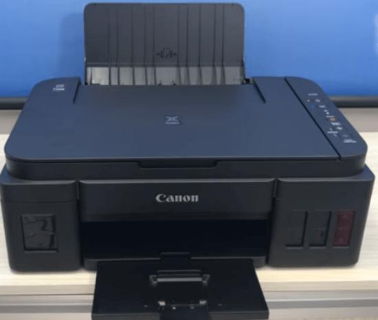1) Impressora Canon G3100 Frontal.